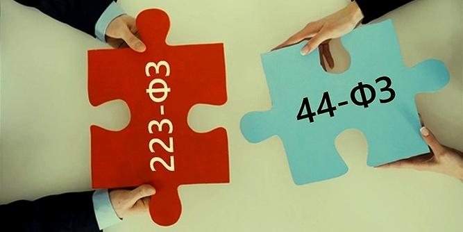 44-ФЗ и 223-ФЗ