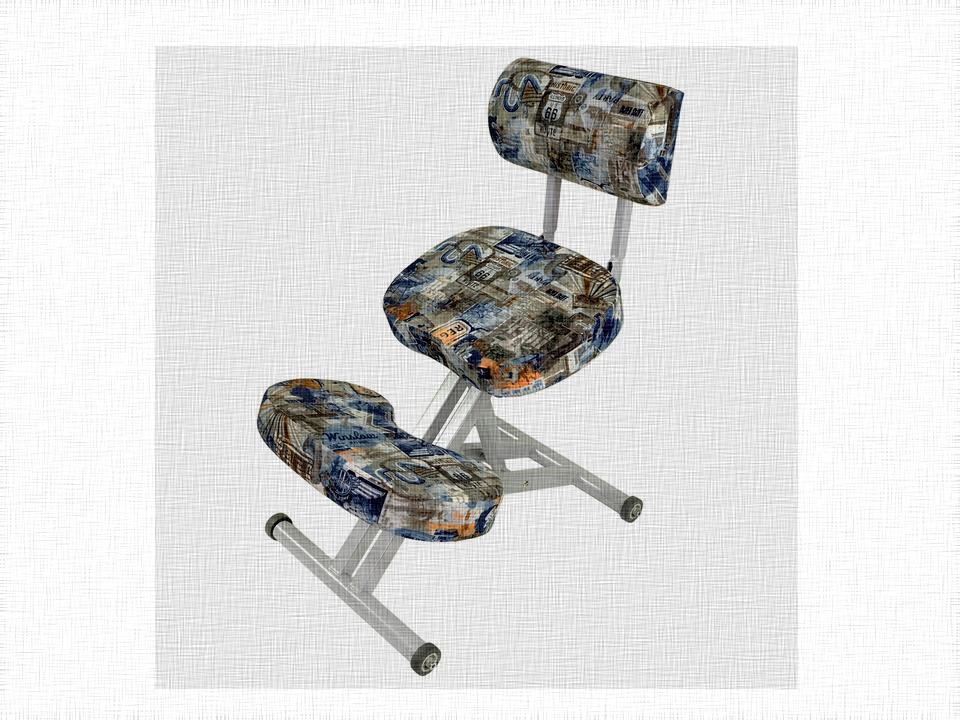 Правильная ортопедическая мебель - коленные стулья